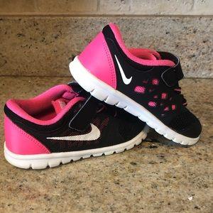 Toddler girl Nike tennis shoes
